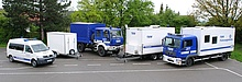 Die Fahrzeuge der Fachgruppe FK (Symbolbild, Quelle: www.thw.de)
